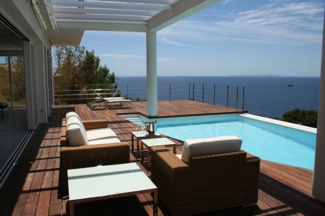 Baños Con Vista Al Mar: 10 personas con 3 piscinas, vista mar y a Formentera