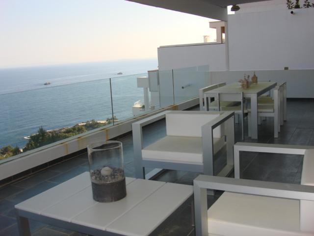 terraza vista mar y Formentera