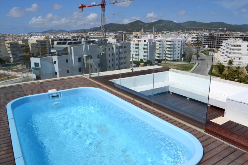 Venta talamanca tico duplex con piscina privada vistas - Piscinas para terrazas aticos ...