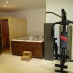 sauna y jacuzzi